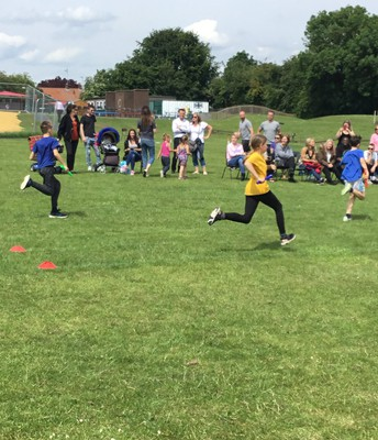Year Five and Six running events