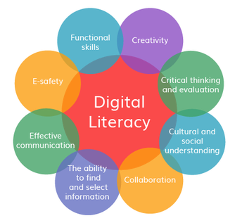Learn about digital literacy with FAKE websites