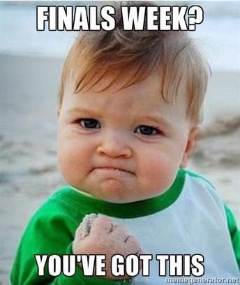 This Week is Finals Week