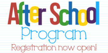 2019-2020 After School Registration