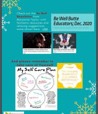 Be Well Butte Educators