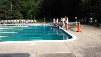 Swim Team Revs Up for Action