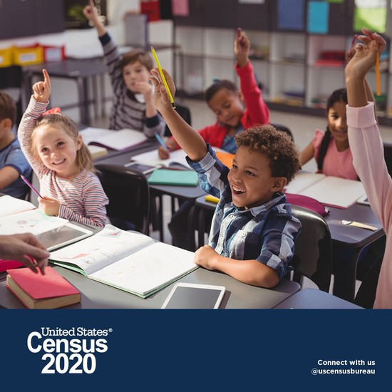 Fill out the 2020 Census Today!