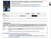 Wishtree Order Form