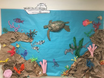 Coral Reef Bulletin Board