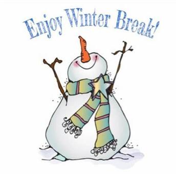 Winter Break - No School - December 19th - January 4th
