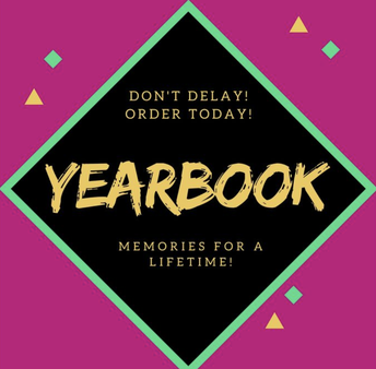 Don't delay! Order today!  Yearbook memories for a lifetime!