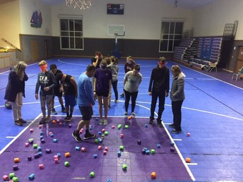 Team Building and Trust Games led by Dr. Robb