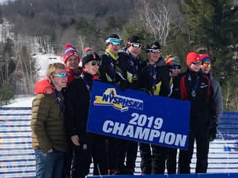 Nordic Relay Team - 3rd Place @ NYSPHSAA Championships