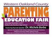 Parenting Fair-Save the Date!