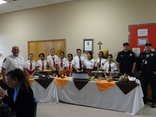 SMCS Thanked our First Responders