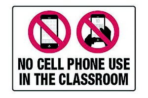 New Cell Phone Policy
