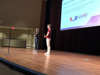 Shey Kent and Deylin Chambes talk about transitioning to freshman year!