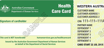 Family Health Care Cards
