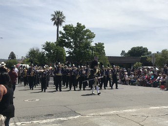 The PHS Marching Band!