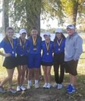 Lady Panther Golf Team Wins Mt. Pleasant Golf Tourney
