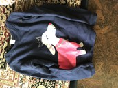 Carters size 7 sweatshirt w/puppy