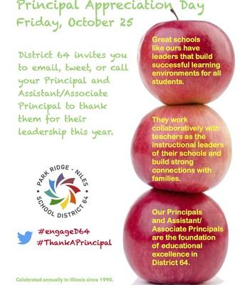 Principal Appreciation Day Flyer