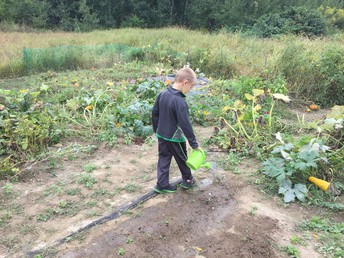 First Grade Garden Helper!