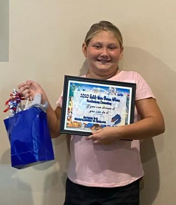 Ellie Gregory - MES Student Winner