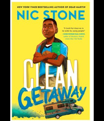 Book of the Month: Clean Getaway by Nic Stone