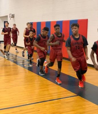 Boys Basketball  had a hard fought game against PK.
