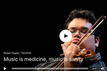 Gupta: Music Is Medicine