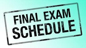 High School Final Exam Information