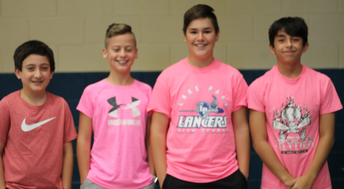 Pink Spirit Day for Breast Cancer Awareness