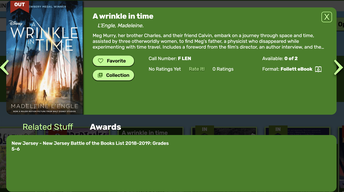 View Awards in Simplified interface