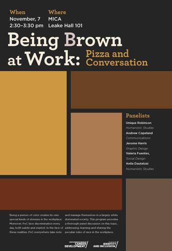 Being Brown at Work