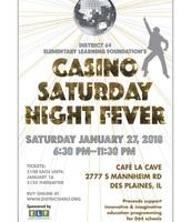 ELF Casino Night 2018 Flyer