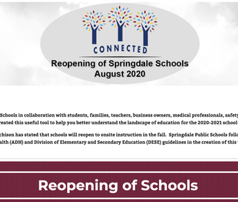 Bookmark our district's Reopening page!