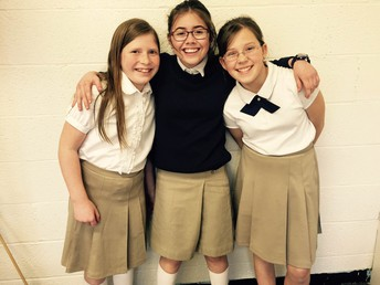 Middle School Skirts and other uniform changes...