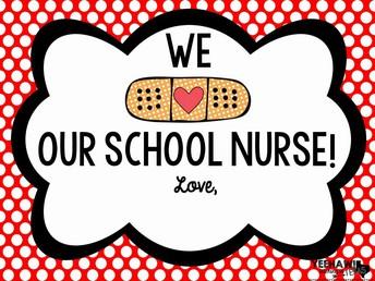 School Nurse Appreciation Day - Wednesday, May 8th