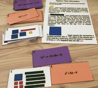 Adding Algebra Tiles activity