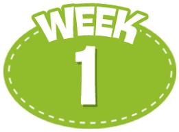 WEEK ONE - Week of September 8-11
