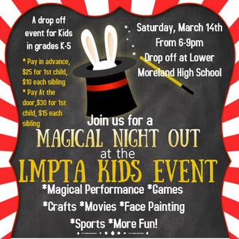 LMPTA Kids' Event at LMHS