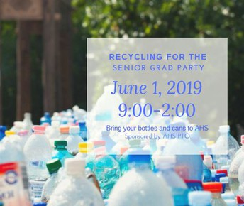June 1 -Bring your cans and bottles to recycle