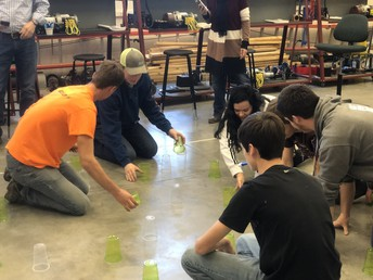 ChildCare and Electrical Trades students Collaborate Together