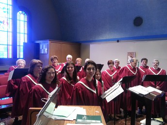 Join the Choir's Rehearsal this Coming Sunday!