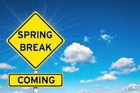 Spring Break (March 29-April5)