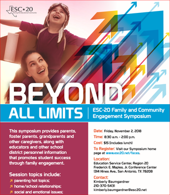 ESC-20 Family & Community Engagement Symposium: Beyond All Limits