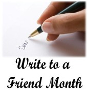 December is National Write to a Friend Month