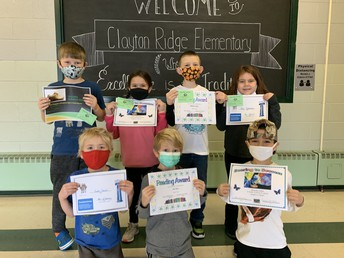 First Grade January Awards