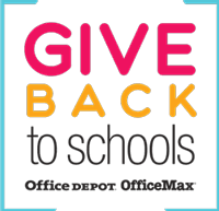 Easy To Donate through OFFICE DEPOT!
