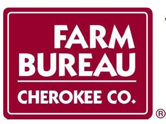 Cherokee County Farm Bureau (Silver Sponsor)