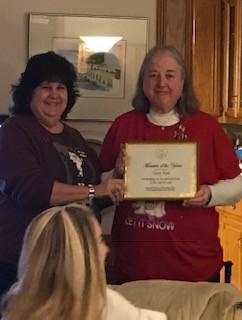 Susan Kent - Member Of The Year