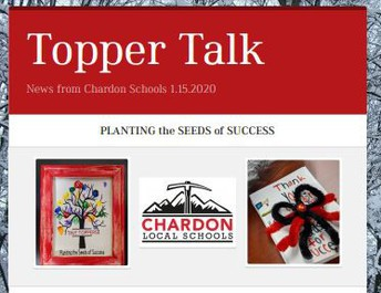 Missed an Issue of Topper Talk? Click here for the Communications webpage to access all 2019-20 editions.