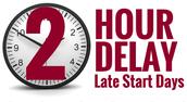 PLC- 2 Hour Late Start- November 14,  2017